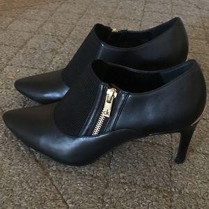 """Calvin Klein Black Bootie Heels 3"""""""